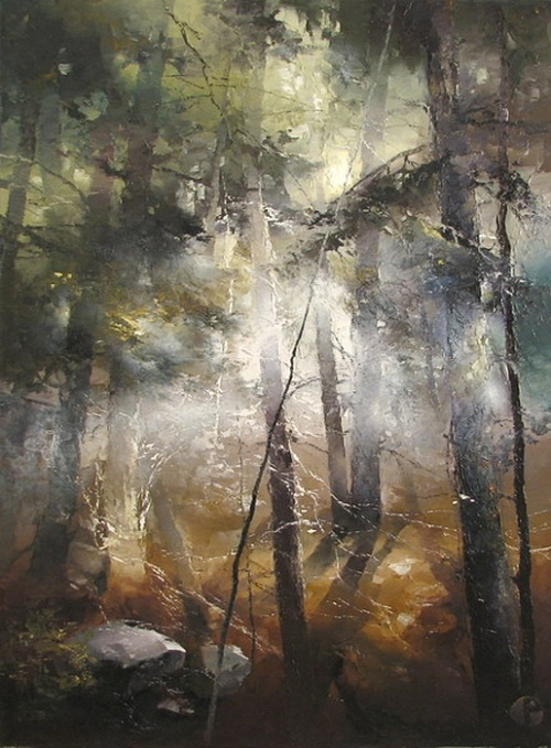 Волшебный лес Petras Lukosius (25 работ)