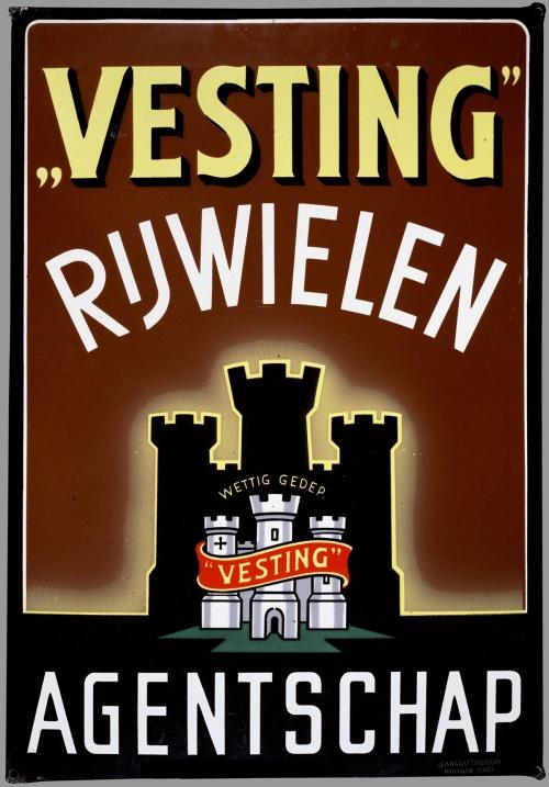 Велосипеды, мотоциклы, мотороллеры в голландских рекламных плакатах (1900-1980) (161 плакатов)