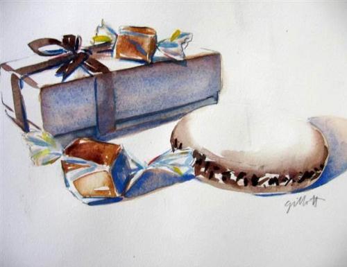 Carol Gillott - художник-иллюстратор, рисующий акварелью (169 работ)