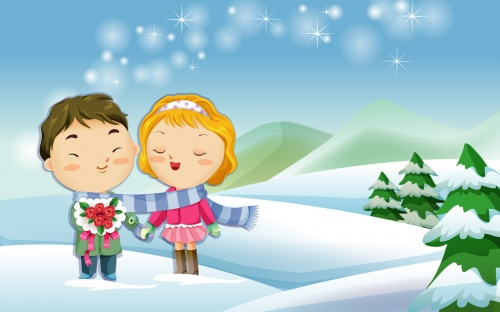 """Романтические картинки """"Love is..."""" (41 работ)"""