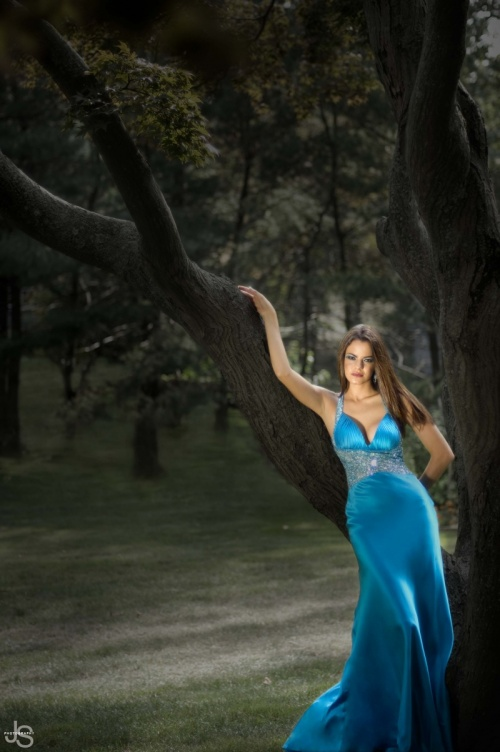 Фото в стиле . . . ( Ladies in Blue ) (129 фото)
