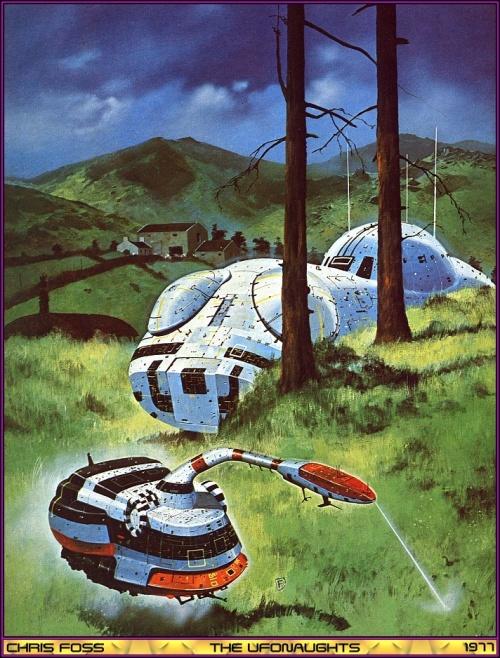 Космические фантазии от Chris Foss (99 работ)