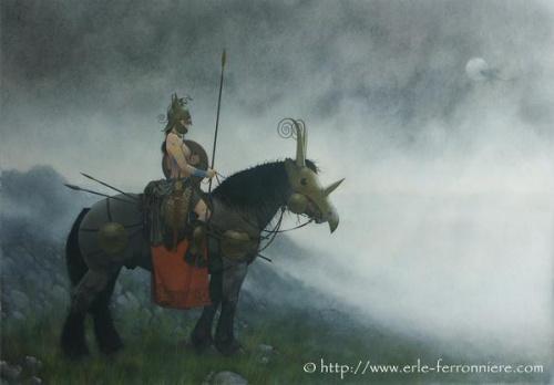 Сказочные иллюстрации Erle Ferronniere (144 работ)