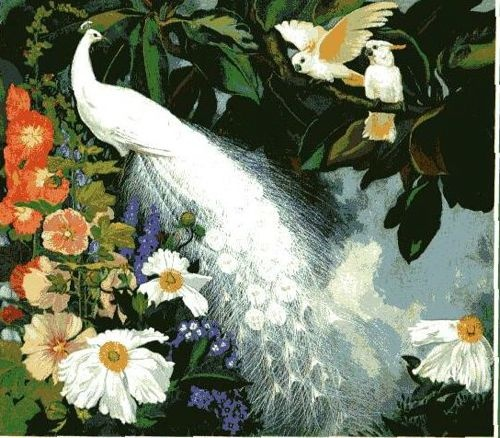 Jessie Arms Botke (1883-1971) (70 работ)