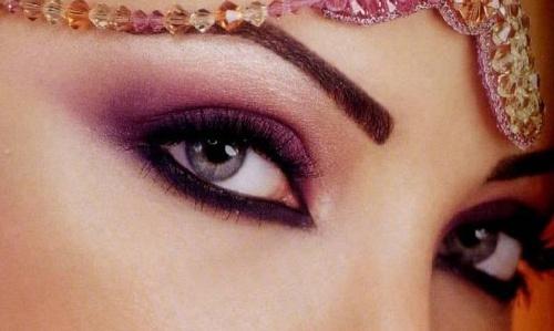 Арабский макияж (504 фото)