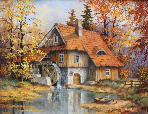 Художник Stanislaw Wilk (15 работ)