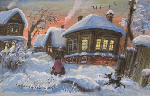 Художник Гурьева-Сажаева Александра (54 работ)