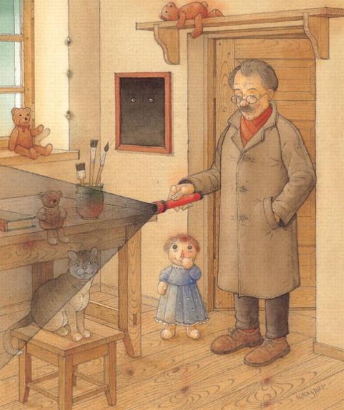 Детский иллюстратор Kestutis Kasparavicius (128 работ)