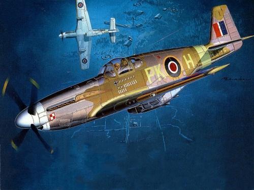 Вторая мировая война в картинках и рисунках 1 (Авиация) (144 работ)