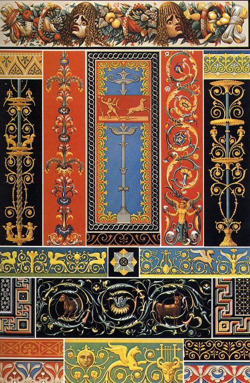 Орнамент всех времен и стилей (62 работ) (1 часть)