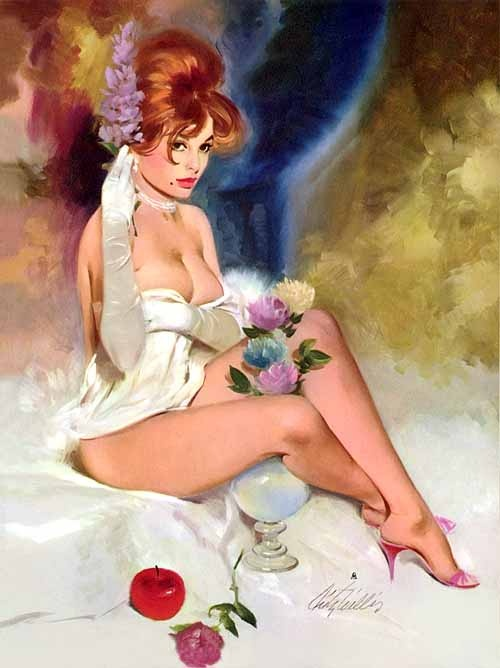 Pin-up Art of Fritz Willis (140 работ)
