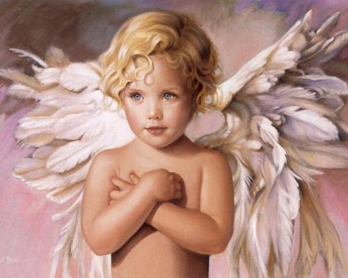 Ангелы-дети Nancy А. Noel (30 работ)