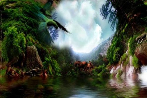 Волшебный мир Carol Cavalaris (39 работ)