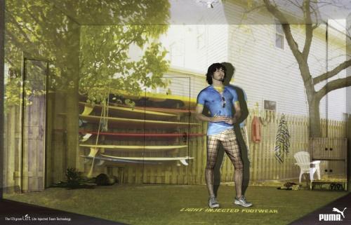 Современная реклама: Одежда и обувь. Часть 2 (100 фото)