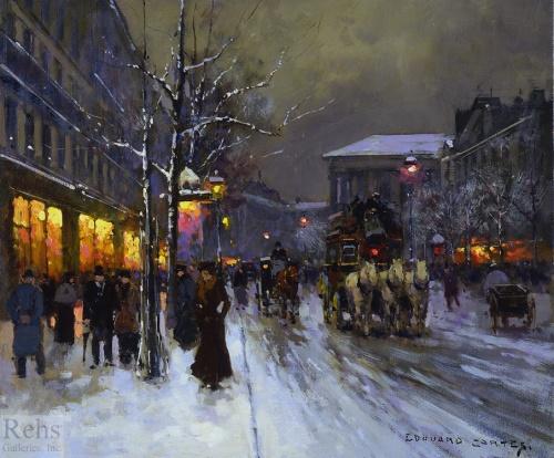 Cortes, Edouard Leon (1882 - 1969) - Дополнение (работ)