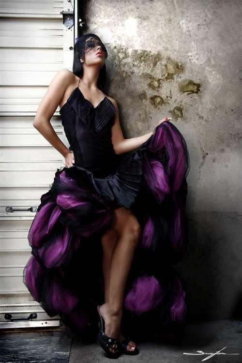 Фото в стиле . . . ( Ladies in Purple & Violet ) (133 фото)