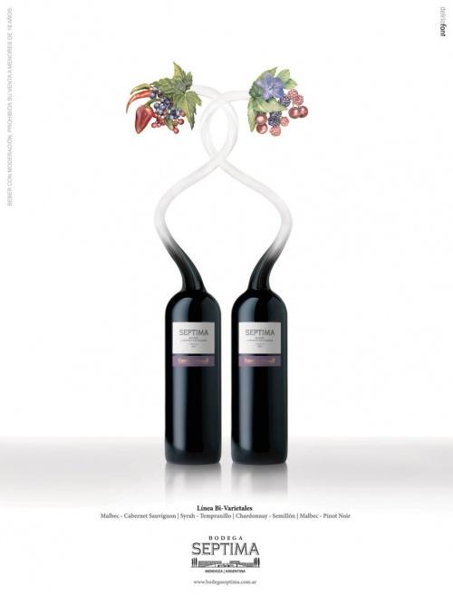 Современная реклама: Алкоголь. Часть 3 (70 фото)