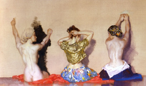 Sir William Russell Flint (1880-1969) (194 работ)