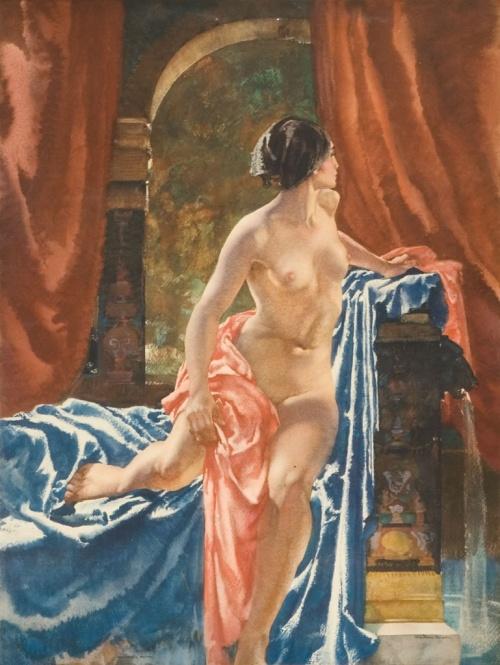 Sir William Russell Flint (1880-1969) (194 работ)