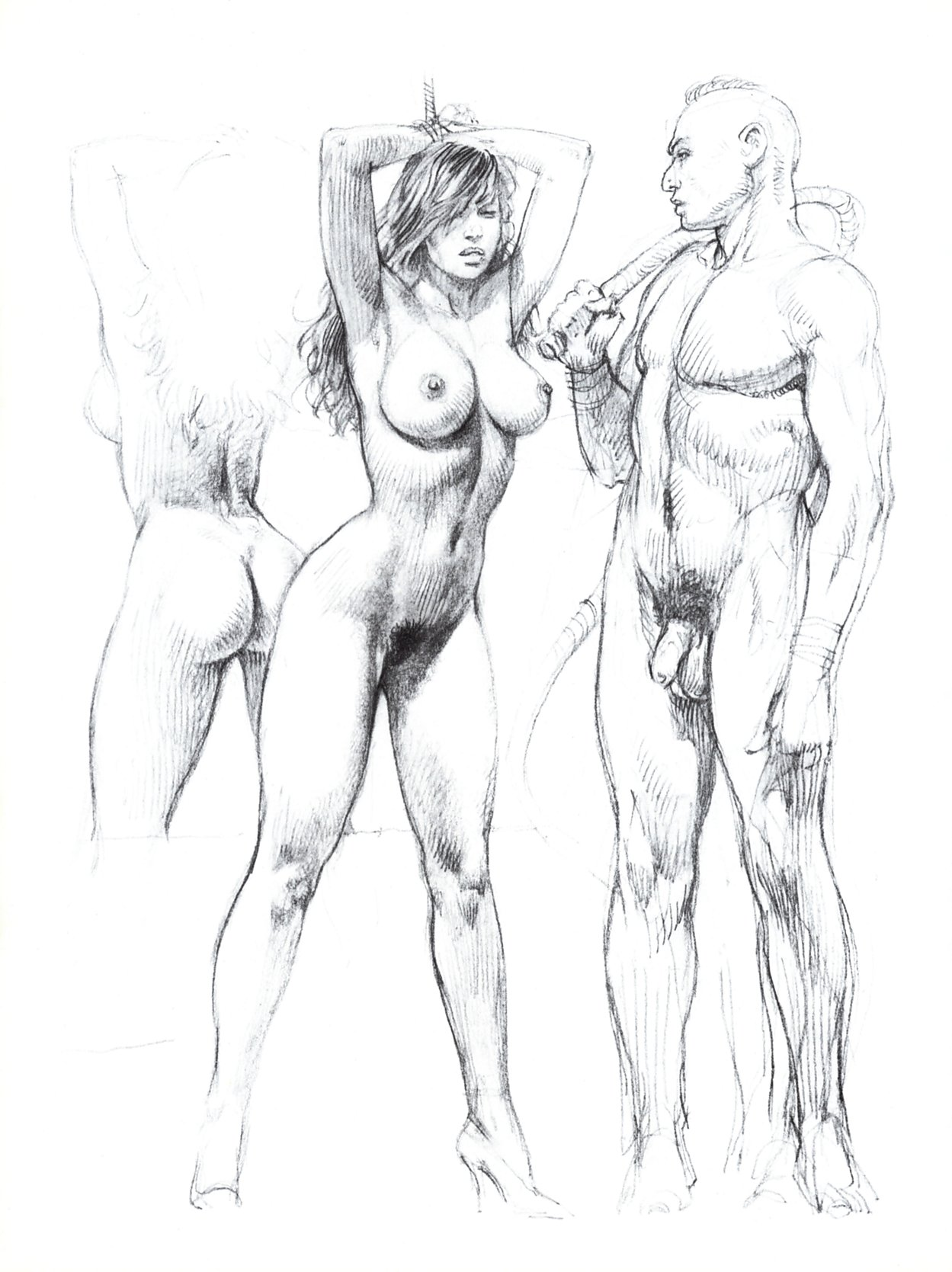 Рисунки мужчин порно 14 фотография