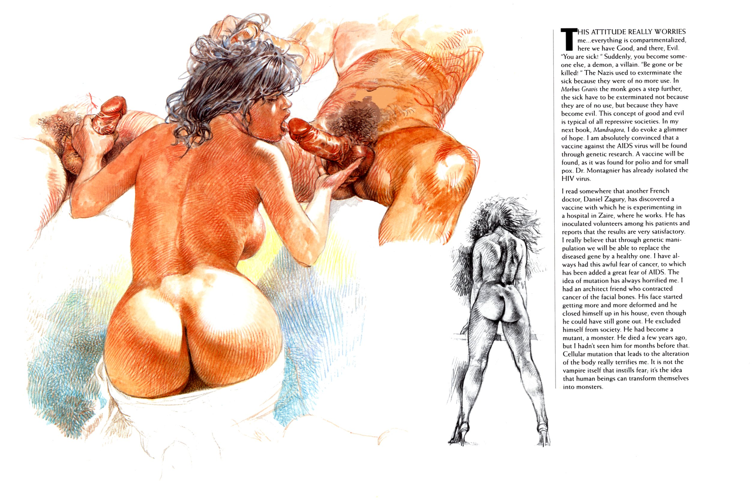 Секс с художниками, С художником - бесплатное порно онлайн 5 фотография