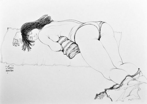 Графика Сергея Воржева (97 работ)