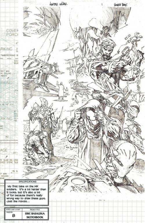 Eric Basaldua Sketchbook (29 работ)