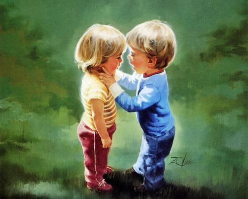 Счастливое детство - Donald Zolan (82 работ)