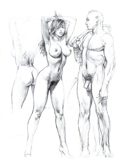 Два АртБука Paolo Eleuteri Serpieri (58 работ) (1 часть)