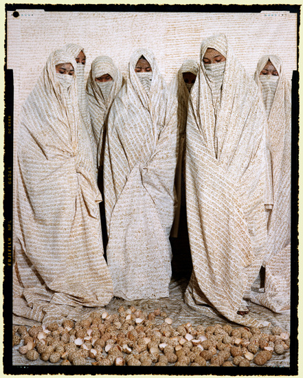 converging territories essaydi According to islamic tradition, men dominate the public sphere and women are expected to remain indoors at most times in photographer lalla essaydi's native morocco this confinement has been further used as a punishment for those who transgress the rules of gender conduct a practice only.