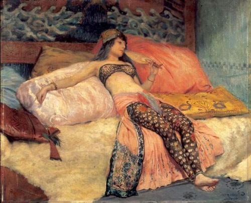 Французский художник Georges Antoine Rochegrosse (1859-1938) (102 работ)
