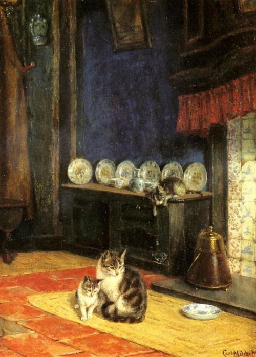 Немецкий художник Karl Emil Mucke (1847-1923) (13 работ)