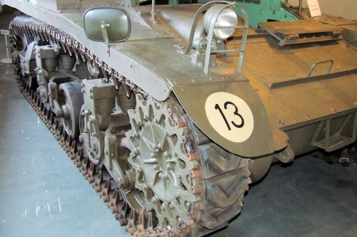 Американский легкий танк M3A1 Stuart (76 фото)