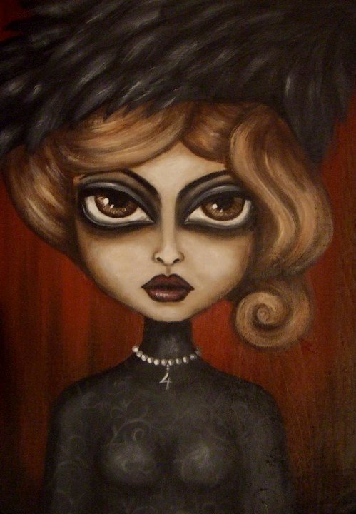 Художница Nina Friday (37 работ)