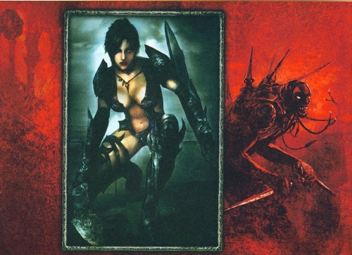 Prince of Persia Warrior Within Special Limited Edition Artbook (37 работ)