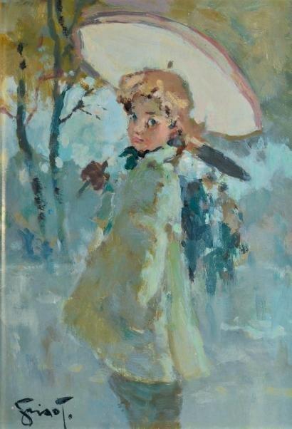 Работы французского художника Pierre Grisot (1911-1995) (87 работ)