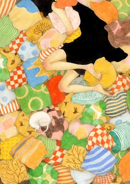 Японский художник Rie Nakajima (142 работ)