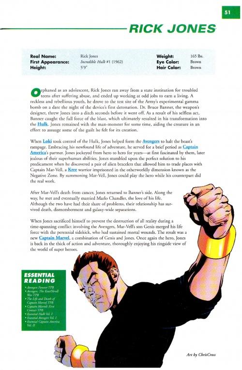 Marvel Encyclopedia Volume 1 HC (204 работ)