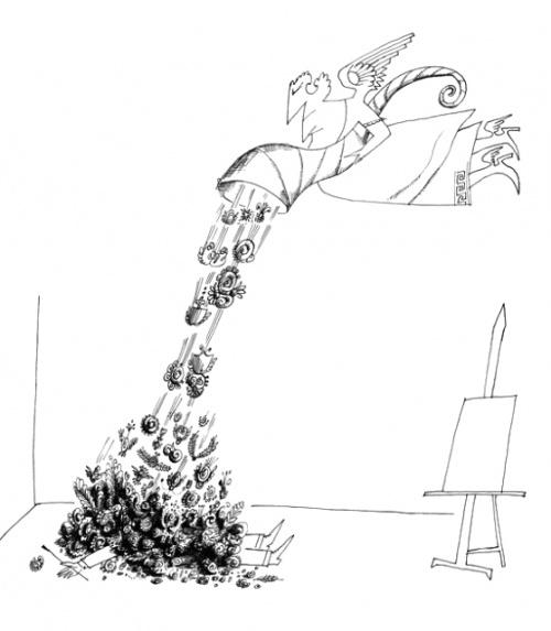 Saul Steinberg (65 работ)