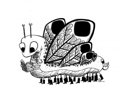 Невероятные пришельцы Марка Фейси (35 работ)