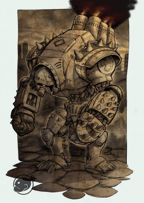 Виктор Негрейро (Victor Flk Negreiro) - фэнтези бразильского иллюстратора (301 работ)