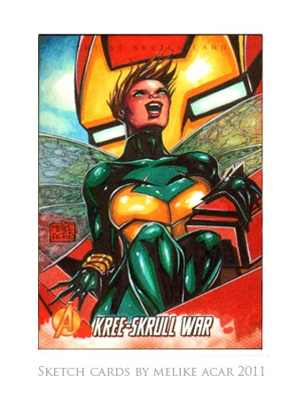 Melike Acar - художник комиксов студии MARVEL (256 работ)