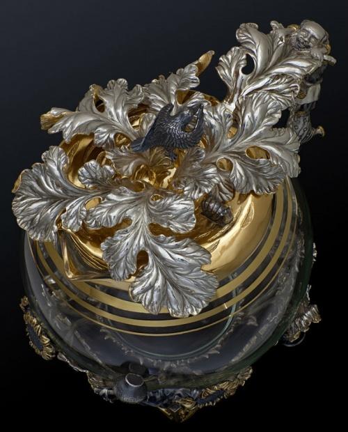 Серебряная посуда - антиквариат (160 фото)