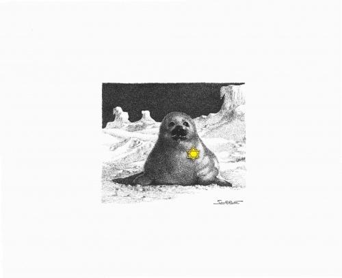 5 юмористических альбомов от Claude Serre (63 работ)