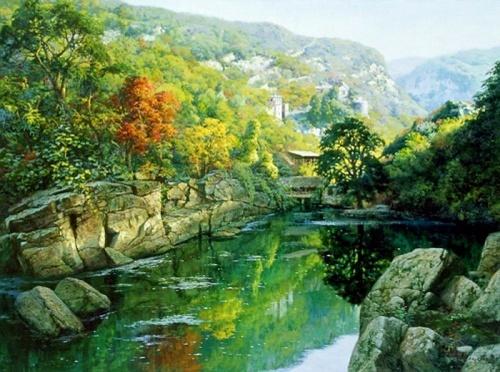 Tian Haibo- живопись (39 работ)