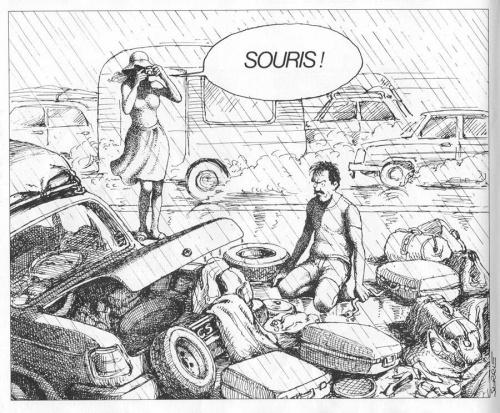 5 юмористических альбомов от Claude Serre (63 работ) (55 работ)