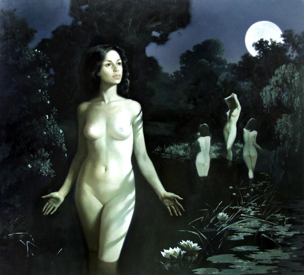 Секс по тихому в лунную ночь 9 фотография