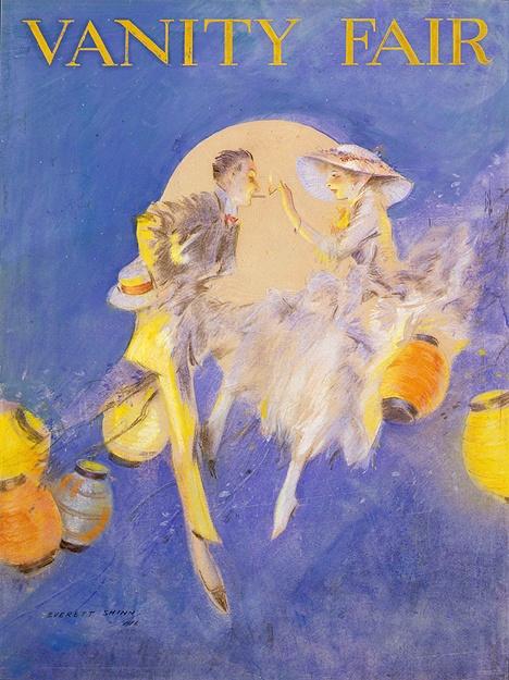 Американский художник Эверетт Шинн (Everett Shinn) (128 работ)