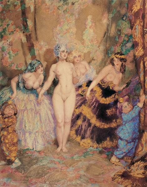 Norman Lindsay (1879-1969) (350 работ)