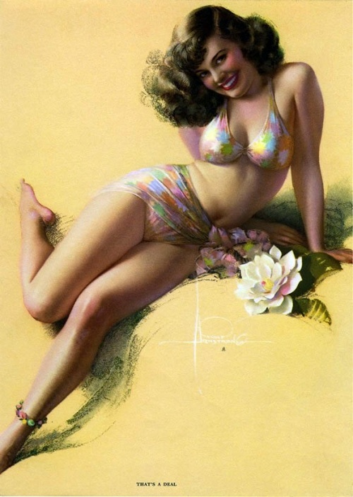 Pin-up Art of Rolf Armstrong (160 работ)